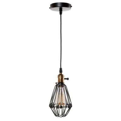 Ретро светильник Loft it 2009/1одиночные подвесные светильники<br><br><br>S освещ. до, м2: 3<br>Тип лампы: Накаливания / энергосбережения / светодиодная<br>Тип цоколя: E27<br>Количество ламп: 1<br>Диаметр, мм мм: 170<br>Высота, мм: 200 - 1000<br>MAX мощность ламп, Вт: 60