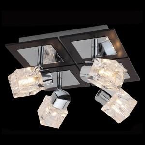 Светильник Евросвет 20141/4 хромС 4 лампами<br>Светильники-споты – это оригинальные изделия с современным дизайном. Они позволяют не ограничивать свою фантазию при выборе освещения для интерьера. Такие модели обеспечивают достаточно качественный свет. Благодаря компактным размерам Вы можете использовать несколько спотов для одного помещения.  Интернет-магазин «Светодом» предлагает необычный светильник-спот Евросвет 20141/4 по привлекательной цене. Эта модель станет отличным дополнением к люстре, выполненной в том же стиле. Перед оформлением заказа изучите характеристики изделия.  Купить светильник-спот Евросвет 20141/4 в нашем онлайн-магазине Вы можете либо с помощью формы на сайте, либо по указанным выше телефонам. Обратите внимание, что у нас склады не только в Москве и Екатеринбурге, но и других городах России.<br><br>S освещ. до, м2: 10<br>Тип лампы: галогенная / LED-светодиодная<br>Тип цоколя: G9<br>Количество ламп: 4<br>Ширина, мм: 320<br>MAX мощность ламп, Вт: 40<br>Длина, мм: 320<br>Высота, мм: 130<br>Цвет арматуры: серебристый