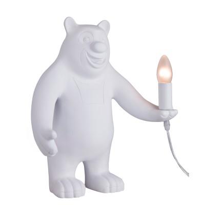 Настольный светильник Favourite 2018-1T CunguroДекоративные настольные лампы<br><br><br>Тип лампы: Накаливания / энергосбережения / светодиодная<br>Тип цоколя: E14<br>Цвет арматуры: белый<br>Количество ламп: 1<br>Диаметр, мм мм: 300<br>Размеры: D300*H410<br>Высота, мм: 410<br>Поверхность арматуры: матовая<br>Оттенок (цвет): белый<br>MAX мощность ламп, Вт: 40