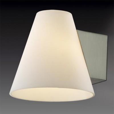 Светильник Odeon Light 2018/1W Turin никельМодерн<br><br><br>S освещ. до, м2: 2<br>Тип лампы: галогенная / LED-светодиодная<br>Тип цоколя: G9<br>Количество ламп: 1<br>Ширина, мм: 120<br>MAX мощность ламп, Вт: 40<br>Высота, мм: 120<br>Цвет арматуры: серый