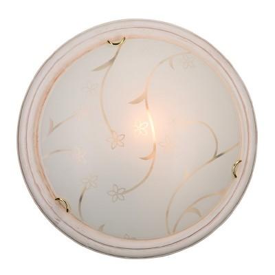Светильник Сонекс 202 SN15 BLANKETA GOLDКруглые<br><br><br>S освещ. до, м2: 10<br>Тип лампы: накаливания / энергосбережения / LED-светодиодная<br>Тип цоколя: E27<br>Количество ламп: 2<br>MAX мощность ламп, Вт: 100<br>Цвет арматуры: белый