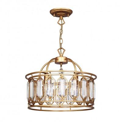 Люстра Favourite 2021-5P Royaltyлюстры подвесные классические<br><br><br>Крепление: Планка<br>Тип лампы: Накаливания / энергосбережения / светодиодная<br>Тип цоколя: E14<br>Цвет арматуры: золото<br>Количество ламп: 5<br>Диаметр, мм мм: 450<br>Длина цепи/провода, мм: 1000<br>Размеры: D450*H400/1400<br>Высота, мм: 400<br>Поверхность арматуры: матовая<br>Оттенок (цвет): золотой<br>MAX мощность ламп, Вт: 40