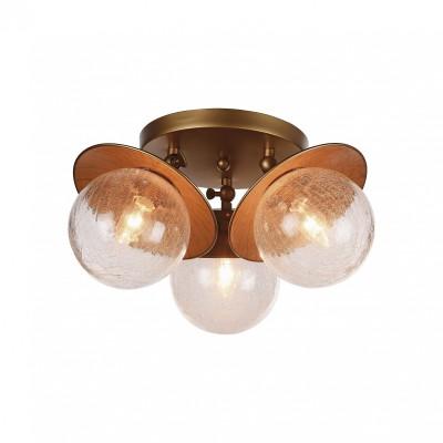 Потолочный светильник Favourite 2027-3U Farolaпотолочные люстры лофт<br><br><br>Крепление: Планка<br>Тип лампы: Накаливания / энергосбережения / светодиодная<br>Тип цоколя: E14<br>Цвет арматуры: бронза<br>Количество ламп: 3<br>Диаметр, мм мм: 420<br>Размеры: D420*H210<br>Высота, мм: 210<br>Поверхность арматуры: матовая<br>Оттенок (цвет): бронза<br>MAX мощность ламп, Вт: 40<br>Общая мощность, Вт: 120