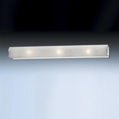 Светильник Odeon Light 2028/3W Tube хром 520mmДлинные<br>Настенно потолочный светильник Odeon light (Оодеон лайт) 2028/3W TUBE хром 520mm подходит как для установки в вертикальном положении - на стены, так и для установки в горизонтальном - на потолок. Для установки настенно потолочных светильников на натяжной потолок необходимо использовать светодиодные лампы LED, которые экономнее ламп Ильича (накаливания) в 10 раз, выделяют мало тепла и не дадут расплавиться Вашему потолку.<br><br>S освещ. до, м2: 8<br>Тип лампы: накаливания / энергосбережения / LED-светодиодная<br>Тип цоколя: E14<br>Цвет арматуры: серебристый<br>Количество ламп: 3<br>Ширина, мм: 60<br>Длина, мм: 520<br>MAX мощность ламп, Вт: 40
