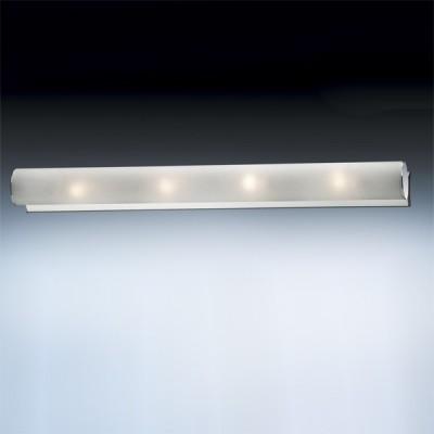 Светильник Odeon Light 2028/4W Tube хром 620mmДлинные<br>Настенно потолочный светильник Odeon light (Оодеон лайт) 2028/4W TUBE хром 620mm подходит как для установки в вертикальном положении - на стены, так и для установки в горизонтальном - на потолок. Для установки настенно потолочных светильников на натяжной потолок необходимо использовать светодиодные лампы LED, которые экономнее ламп Ильича (накаливания) в 10 раз, выделяют мало тепла и не дадут расплавиться Вашему потолку.<br><br>S освещ. до, м2: 10<br>Тип товара: Светильник настенно-потолочный<br>Тип лампы: накаливания / энергосбережения / LED-светодиодная<br>Тип цоколя: E14<br>Количество ламп: 4<br>Ширина, мм: 60<br>MAX мощность ламп, Вт: 40<br>Длина, мм: 620<br>Цвет арматуры: серебристый