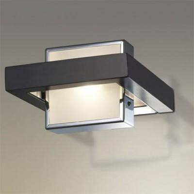 Светильник Odeon Light 2029/1W Selve венгеХай-тек<br><br><br>S освещ. до, м2: 2<br>Тип лампы: галогенная / LED-светодиодная<br>Тип цоколя: G9<br>Цвет арматуры: черный<br>Количество ламп: 1<br>Ширина, мм: 160<br>Высота, мм: 170<br>MAX мощность ламп, Вт: 40