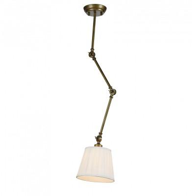 Подвес Favourite 2030-1P Gambasодиночные подвесные светильники<br><br><br>Крепление: Планка<br>Тип лампы: Накаливания / энергосбережения / светодиодная<br>Тип цоколя: E27<br>Цвет арматуры: бронза<br>Количество ламп: 1<br>Диаметр, мм мм: 140<br>Длина цепи/провода, мм: 350<br>Размеры: D140*H450/820<br>Высота, мм: 450<br>Поверхность арматуры: блестящая<br>Оттенок (цвет): бронза<br>MAX мощность ламп, Вт: 60