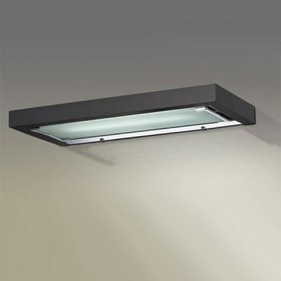 Светильник Odeon Light 2030/1W Selve венгеДлинные<br>Настенно потолочный светильник Odeon light (Оодеон лайт) 2030/1W SELVE венге подходит как для установки в вертикальном положении - на стены, так и для установки в горизонтальном - на потолок. Для установки настенно потолочных светильников на натяжной потолок необходимо использовать светодиодные лампы LED, которые экономнее ламп Ильича (накаливания) в 10 раз, выделяют мало тепла и не дадут расплавиться Вашему потолку.<br><br>S освещ. до, м2: 2<br>Тип лампы: люминесцентная<br>Тип цоколя: T5<br>Количество ламп: 1<br>Ширина, мм: 400<br>MAX мощность ламп, Вт: 8<br>Высота, мм: 170<br>Цвет арматуры: черный