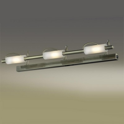 Светильник Odeon Light 2035/3W Wiron бронзаДля картин/зеркал<br><br><br>S освещ. до, м2: 20<br>Тип лампы: галогенная / LED-светодиодная<br>Тип цоколя: R7s<br>Количество ламп: 3<br>Ширина, мм: 670<br>MAX мощность ламп, Вт: 100<br>Высота, мм: 100<br>Цвет арматуры: бронзовый
