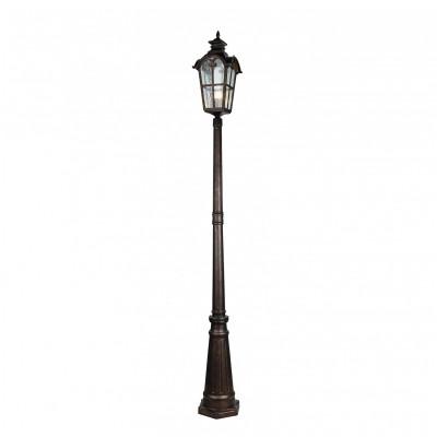 Уличный столб Favourite 2036-1F BristolУличные фонари с несколькими плафонами<br><br><br>Тип лампы: Накаливания / энергосбережения / светодиодная<br>Тип цоколя: E27<br>Цвет арматуры: коричневый<br>Количество ламп: 1<br>Ширина, мм: 230<br>Размеры: L230*W230*H2487<br>Длина, мм: 230<br>Высота, мм: 2487<br>Поверхность арматуры: матовая<br>Оттенок (цвет): коричневый<br>MAX мощность ламп, Вт: 60
