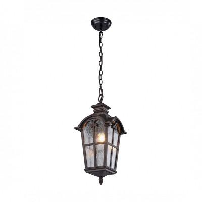Уличный подвес Favourite 2036-1P BristolПодвесные уличные светильники<br><br><br>Крепление: Планка<br>Тип лампы: Накаливания / энергосбережения / светодиодная<br>Тип цоколя: E27<br>Цвет арматуры: коричневый<br>Количество ламп: 1<br>Ширина, мм: 230<br>Размеры: L230*W230*H530<br>Длина, мм: 230<br>Высота, мм: 530<br>Поверхность арматуры: матовая<br>Оттенок (цвет): коричневый<br>MAX мощность ламп, Вт: 60