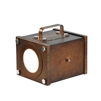 Настольный светильник Favourite 2037-1T FocoОжидается<br><br><br>Тип цоколя: GU10<br>Цвет арматуры: коричневый<br>Количество ламп: 1<br>Ширина, мм: 210<br>Размеры: L200*W210*H190<br>Длина, мм: 200<br>Высота, мм: 190<br>MAX мощность ламп, Вт: 5