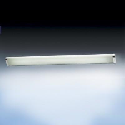Светильник Odeon Light 2038/1W Feo хром 900mmДлинные<br>Настенно потолочный светильник Odeon light (Оодеон лайт) 2038/1W FEO хром 900mm подходит как для установки в вертикальном положении - на стены, так и для установки в горизонтальном - на потолок. Для установки настенно потолочных светильников на натяжной потолок необходимо использовать светодиодные лампы LED, которые экономнее ламп Ильича (накаливания) в 10 раз, выделяют мало тепла и не дадут расплавиться Вашему потолку.<br><br>S освещ. до, м2: 2<br>Тип лампы: люминесцентная<br>Тип цоколя: T5<br>Количество ламп: 1<br>Ширина, мм: 80<br>MAX мощность ламп, Вт: 21<br>Длина, мм: 900<br>Цвет арматуры: серебристый