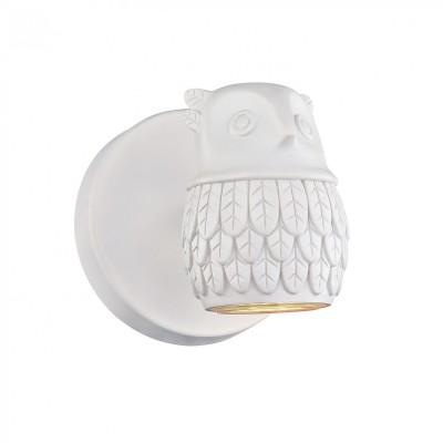 Настенный светильник Favourite 2041-1W Gufoсовременные бра модерн<br><br><br>Тип лампы: галогенная/LED - светодиодная<br>Тип цоколя: GU10<br>Цвет арматуры: белый<br>Количество ламп: 1<br>Ширина, мм: 110<br>Диаметр, мм мм: 140<br>Размеры: D140*W110*H110<br>Высота, мм: 110<br>Поверхность арматуры: матовая<br>Оттенок (цвет): белый<br>MAX мощность ламп, Вт: 5