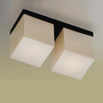 Светильник Odeon Light 2043/2C Cubet венгеПрямоугольные<br>Настенно потолочный светильник Odeon light (Оодеон лайт) 2043/2C Cubet венге подходит как для установки в вертикальном положении - на стены, так и для установки в горизонтальном - на потолок. Для установки настенно потолочных светильников на натяжной потолок необходимо использовать светодиодные лампы LED, которые экономнее ламп Ильича (накаливания) в 10 раз, выделяют мало тепла и не дадут расплавиться Вашему потолку.<br><br>S освещ. до, м2: 5<br>Тип лампы: накаливания / энергосбережения / LED-светодиодная<br>Тип цоколя: E14<br>Цвет арматуры: черный<br>Количество ламп: 2<br>Ширина, мм: 250<br>Расстояние от стены, мм: 120<br>Высота, мм: 150<br>MAX мощность ламп, Вт: 40