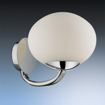 Светильник Odeon Light 2044/1W Rolet хромКлассические<br><br><br>S освещ. до, м2: 2<br>Тип лампы: накаливания / энергосбережения / LED-светодиодная<br>Тип цоколя: E14<br>Цвет арматуры: серебристый<br>Количество ламп: 1<br>Ширина, мм: 240<br>Высота, мм: 180<br>MAX мощность ламп, Вт: 40