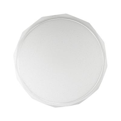 Светильник светодиодный Сонекс 2045/EL GINO 72ВтКруглые<br><br><br>S освещ. до, м2: 36<br>Тип лампы: LED - светодиодная<br>Тип цоколя: LED<br>Цвет арматуры: белый<br>Диаметр, мм мм: 500<br>Высота, мм: 62<br>Оттенок (цвет): белый<br>MAX мощность ламп, Вт: 72