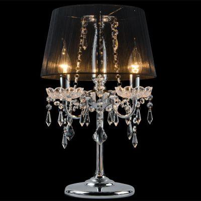 Светильник настольный Евросвет 2045/3T хром/черныйХрустальные<br>Настольная лампа – это не просто источник дополнительного освещения, но и оригинальный элемент декора. Его можно установить в спальне, гостиной, кабинете и других комнатах. Интернет-магазин «Светодом» предлагает настольные лампы разных стилей по доступным ценам. Благодаря большому ассортименту Вы обязательно найдете в нашем каталоге именно ту модель, которую искали.   Настольная лампа Евросвет 2045/3T – прекрасный вариант для завершения интерьера. Ее можно включить одновременно с люстрой для более яркого освещения или без нее для создания уютной атмосферы, настраивающей на отдых.   Купить настольную лампу Евросвет 2045/3T Вы можете с помощью виртуальной «Корзины» или по контактным номерам, указанным на сайте.<br><br>S освещ. до, м2: 12<br>Тип лампы: накал-я - энергосбер-я<br>Тип цоколя: E14<br>Количество ламп: 3<br>MAX мощность ламп, Вт: 60<br>Диаметр, мм мм: 300<br>Высота, мм: 480<br>Цвет арматуры: серебристый