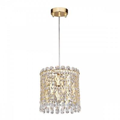 Люстра Favourite 2048-1P Celebrityодиночные подвесные светильники<br><br><br>Крепление: Планка<br>Тип лампы: Накаливания / энергосбережения / светодиодная<br>Тип цоколя: E27<br>Цвет арматуры: золото<br>Количество ламп: 1<br>Диаметр, мм мм: 205<br>Длина цепи/провода, мм: 500<br>Размеры: D205*H300/800<br>Высота, мм: 300<br>Поверхность арматуры: блестящая<br>Оттенок (цвет): золотой<br>MAX мощность ламп, Вт: 40
