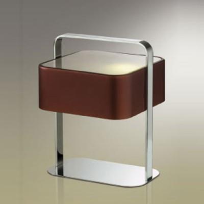 Настольная лампа Odeon light 2048/1T Turon хром/коричневыйХай тек<br>Настольная лампа – это не просто источник дополнительного освещения, но и оригинальный элемент декора. Его можно установить в спальне, гостиной, кабинете и других комнатах. Интернет-магазин «Светодом» предлагает настольные лампы разных стилей по доступным ценам. Благодаря большому ассортименту Вы обязательно найдете в нашем каталоге именно ту модель, которую искали.   Настольная лампа Odeon light 2048/1T  – прекрасный вариант для завершения интерьера. Ее можно включить одновременно с люстрой для более яркого освещения или без нее для создания уютной атмосферы, настраивающей на отдых.   Купить настольную лампу Odeon light 2048/1T  Вы можете с помощью виртуальной «Корзины» или по контактным номерам, указанным на сайте.<br><br>S освещ. до, м2: 6<br>Тип лампы: накаливания / энергосбережения / LED-светодиодная<br>Тип цоколя: E27<br>Количество ламп: 1<br>Ширина, мм: 250<br>MAX мощность ламп, Вт: 100<br>Длина, мм: 270<br>Высота, мм: 340<br>Цвет арматуры: серебристый