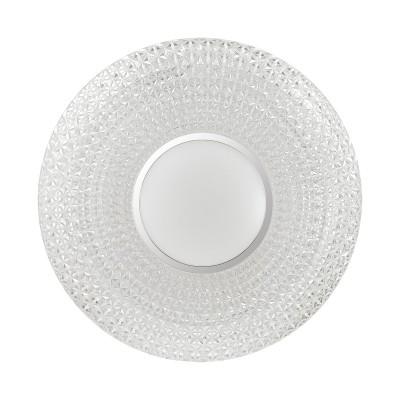 Светильник светодиодный Сонекс 2048/EL VISMA 72Вткруглые светильники<br><br><br>S освещ. до, м2: 36<br>Тип лампы: LED - светодиодная<br>Цвет арматуры: белый<br>Диаметр, мм мм: 510<br>Высота, мм: 82<br>Оттенок (цвет): белый<br>MAX мощность ламп, Вт: 72