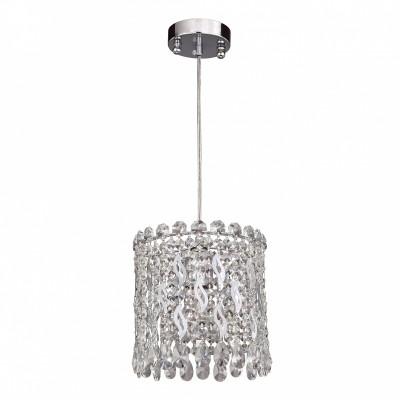 Люстра Favourite 2049-1P Celebrityодиночные подвесные светильники<br><br><br>Крепление: Планка<br>Тип лампы: Накаливания / энергосбережения / светодиодная<br>Тип цоколя: E27<br>Цвет арматуры: серебристый<br>Количество ламп: 1<br>Диаметр, мм мм: 205<br>Длина цепи/провода, мм: 500<br>Размеры: D205*H300/800<br>Высота, мм: 300<br>Поверхность арматуры: блестящая<br>Оттенок (цвет): серебристый<br>MAX мощность ламп, Вт: 40