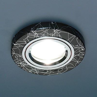 2050 BK/SL (черный/серебро) Электростандарт Точечный светильникКруглые<br>Лампа: MR16 G5.3 max 35 Вт Диаметр: #216; 89 мм Высота внутренней части: ? 20 мм Высота внешней части: ? 10 мм Монтажное отверстие: #216; 65 мм Гарантия: 2 года Светильник имеет поворотный механизм<br><br>S освещ. до, м2: 3<br>Тип лампы: галогенная<br>Тип цоколя: gu5.3<br>Цвет арматуры: серебристый<br>Количество ламп: 1<br>Диаметр, мм мм: 90<br>Диаметр врезного отверстия, мм: 65<br>Оттенок (цвет): черный<br>MAX мощность ламп, Вт: 50