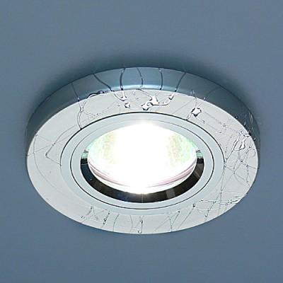 2050 SL (серебро) Электростандарт Точечный светильникКруглые встраиваемые светильники<br>Лампа: MR16 G5.3 max 35 Вт Диаметр: #216; 89 мм Высота внутренней части: ? 20 мм Высота внешней части: ? 10 мм Монтажное отверстие: #216; 65 мм Гарантия: 2 года<br><br>S освещ. до, м2: 3<br>Тип лампы: галогенная<br>Тип цоколя: gu5.3<br>Цвет арматуры: серебристый<br>Количество ламп: 1<br>Диаметр, мм мм: 90<br>Диаметр врезного отверстия, мм: 65<br>Оттенок (цвет): серебристный<br>MAX мощность ламп, Вт: 50