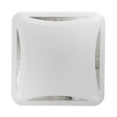 Светильник светодиодный Сонекс 2055/EL KRONA 72Втквадратные светильники<br><br><br>Установка на натяжной потолок: Да<br>S освещ. до, м2: 36<br>Цветовая t, К: 3200/4200//6200<br>Тип лампы: LED - светодиодная<br>Тип цоколя: LED, встроенные светодиоды<br>Цвет арматуры: белый<br>Количество ламп: 1<br>Ширина, мм: 530<br>Длина, мм: 530<br>Высота, мм: 65<br>Поверхность арматуры: матовая<br>Оттенок (цвет): белый<br>Общая мощность, Вт: 72