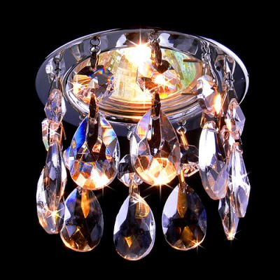 2055 CH/Clear (хром / прозрачный хрусталь) Электростандарт Светильник точечный с хрусталемВстраиваемые хрустальные светильники<br>Лампа: MR16 G5.3 max 50 Вт Диаметр: ? 82 мм Высота внутренней части: ? 26 мм Высота внешней части: ? 64 мм Монтажное отверстие: ? 55 мм Гарантия: 2 года<br><br>S освещ. до, м2: 2<br>Тип лампы: галогенная<br>Тип цоколя: gu5.3<br>Цвет арматуры: серебристый<br>Диаметр, мм мм: 81<br>Диаметр врезного отверстия, мм: 61<br>Высота, мм: 71<br>MAX мощность ламп, Вт: 50