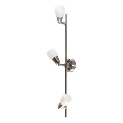 CORSOCOMOСветильники-споты – это оригинальные изделия с современным дизайном. Они позволяют не ограничивать свою фантазию при выборе освещения для интерьера. Такие модели обеспечивают достаточно качественный свет. Благодаря компактным размерам Вы можете использовать несколько спотов для одного помещения.  Интернет-магазин «Светодом» предлагает необычный светильник-спот Colosseo 20605/3 по привлекательной цене. Эта модель станет отличным дополнением к люстре, выполненной в том же стиле. Перед оформлением заказа изучите характеристики изделия.  Купить светильник-спот Colosseo 20605/3 в нашем онлайн-магазине Вы можете либо с помощью формы на сайте, либо по указанным выше телефонам. Обратите внимание, что мы предлагаем доставку не только по Москве и Екатеринбургу, но и всем остальным российским городам.<br><br>S освещ. до, м2: 8<br>Крепление: планка<br>Тип лампы: галогенная / LED-светодиодная<br>Тип цоколя: G9<br>Цвет арматуры: серый<br>Количество ламп: 3<br>Ширина, мм: 530<br>Расстояние от стены, мм: 140<br>Высота, мм: 110<br>MAX мощность ламп, Вт: 40