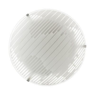 Светильник светодиодный Сонекс 2065/DL STRAPA 48Вткруглые светильники<br><br><br>S освещ. до, м2: 24<br>Цветовая t, К: 4000<br>Тип лампы: LED - светодиодная<br>Цвет арматуры: серебристый хром<br>Диаметр, мм мм: 400<br>Расстояние от стены, мм: 78<br>Оттенок (цвет): белый<br>MAX мощность ламп, Вт: 48
