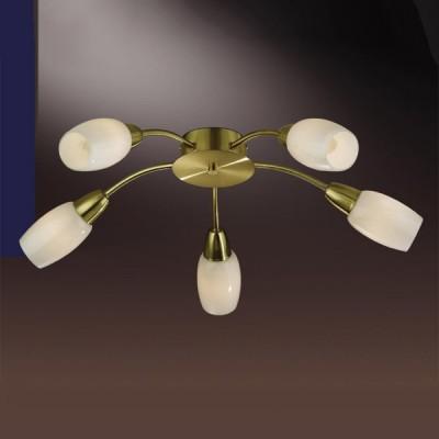 Люстра Odeon Light 2067/5C Otta мат золотоПотолочные<br>Компания «Светодом» предлагает широкий ассортимент люстр от известных производителей. Представленные в нашем каталоге товары выполнены из современных материалов и обладают отличным качеством. Благодаря широкому ассортименту Вы сможете найти у нас люстру под любой интерьер. Мы предлагаем как классические варианты, так и современные модели, отличающиеся лаконичностью и простотой форм.  Стильная люстра Odeon light 2067/5C  станет украшением любого дома. Эта модель от известного производителя не оставит равнодушным ценителей красивых и оригинальных предметов интерьера. Люстра Odeon light 2067/5C  обеспечит равномерное распределение света по всей комнате. При выборе обратите внимание на характеристики, позволяющие приобрести наиболее подходящую модель. Купить понравившуюся люстру по доступной цене Вы можете в интернет-магазине «Светодом». Мы предлагаем доставку не только по Москве и Екатеринбурге, но и по всей России.<br><br>Установка на натяжной потолок: Ограничено<br>S освещ. до, м2: 13<br>Крепление: Планка<br>Тип лампы: накаливания / энергосбережения / LED-светодиодная<br>Тип цоколя: E14<br>Количество ламп: 5<br>MAX мощность ламп, Вт: 40<br>Диаметр, мм мм: 580<br>Высота, мм: 145<br>Цвет арматуры: золотой