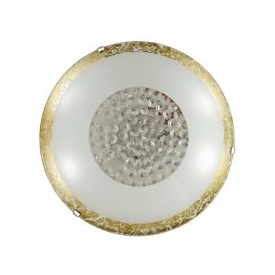 Светильник светодиодный Сонекс 2072/DL ELEKA 48Вткруглые светильники<br><br><br>S освещ. до, м2: 24<br>Цветовая t, К: 3200/4200//6200<br>Тип лампы: LED - светодиодная<br>Цвет арматуры: золотой<br>Диаметр, мм мм: 400<br>Расстояние от стены, мм: 78<br>Оттенок (цвет): белый / желтый<br>MAX мощность ламп, Вт: 48