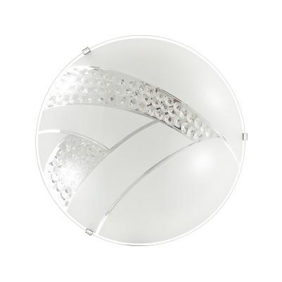 Светильник светодиодный Сонекс 2073/DL FLORI 48ВтКруглые<br><br><br>S освещ. до, м2: 24<br>Цветовая t, К: 4000<br>Тип лампы: LED - светодиодная<br>Цвет арматуры: серебристый хром<br>Диаметр, мм мм: 400<br>Расстояние от стены, мм: 78<br>Оттенок (цвет): белый<br>MAX мощность ламп, Вт: 48