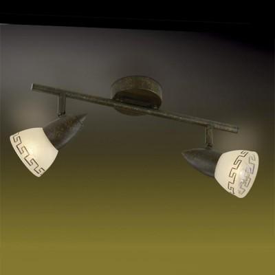 Светильник Odeon light 2075/2W Medeo коричневыйДвойные<br>Допускается установка светильника на вертикальную поверхность - стену и горизонтальную поверхность - потолок.<br><br>S освещ. до, м2: 5<br>Тип лампы: накал-я - энергосбер-я<br>Тип цоколя: E14<br>Количество ламп: 2<br>Ширина, мм: 390<br>MAX мощность ламп, Вт: 40<br>Расстояние от стены, мм: 175<br>Цвет арматуры: коричневый