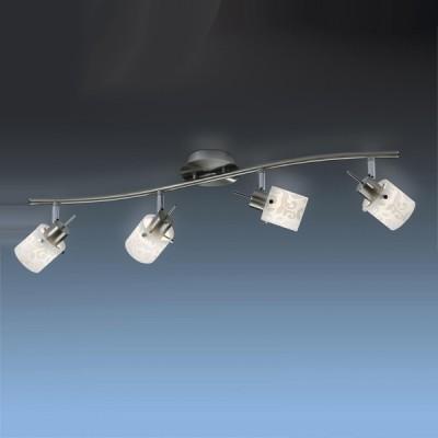 Светильник Odeon light 2076/4W Terbo никельС 4 лампами<br>Светильники-споты – это оригинальные изделия с современным дизайном. Они позволяют не ограничивать свою фантазию при выборе освещения для интерьера. Такие модели обеспечивают достаточно качественный свет. Благодаря компактным размерам Вы можете использовать несколько спотов для одного помещения.  Интернет-магазин «Светодом» предлагает необычный светильник-спот Odeon light 2076/4W по привлекательной цене. Эта модель станет отличным дополнением к люстре, выполненной в том же стиле. Перед оформлением заказа изучите характеристики изделия.  Купить светильник-спот Odeon light 2076/4W в нашем онлайн-магазине Вы можете либо с помощью формы на сайте, либо по указанным выше телефонам. Обратите внимание, что у нас склады не только в Москве и Екатеринбурге, но и других городах России.<br><br>S освещ. до, м2: 10<br>Тип лампы: галогенная / LED-светодиодная<br>Тип цоколя: G9<br>Количество ламп: 4<br>Ширина, мм: 110<br>MAX мощность ламп, Вт: 40<br>Длина, мм: 740<br>Расстояние от стены, мм: 135<br>Цвет арматуры: серый