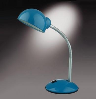 Настольная лампа Odeon light 2082/1T Kiva синийОфисные<br>Настольная лампа – это не просто источник дополнительного освещения, но и оригинальный элемент декора. Его можно установить в спальне, гостиной, кабинете и других комнатах. Интернет-магазин «Светодом» предлагает настольные лампы разных стилей по доступным ценам. Благодаря большому ассортименту Вы обязательно найдете в нашем каталоге именно ту модель, которую искали.   Настольная лампа Odeon light 2082/1T  – прекрасный вариант для завершения интерьера. Ее можно включить одновременно с люстрой для более яркого освещения или без нее для создания уютной атмосферы, настраивающей на отдых.   Купить настольную лампу Odeon light 2082/1T  Вы можете с помощью виртуальной «Корзины» или по контактным номерам, указанным на сайте.<br><br>S освещ. до, м2: 4<br>Тип лампы: накал-я - энергосбер-я<br>Тип цоколя: E27<br>Количество ламп: 1<br>Ширина, мм: 141<br>MAX мощность ламп, Вт: 60<br>Диаметр, мм мм: 120<br>Высота, мм: 340<br>Цвет арматуры: синий