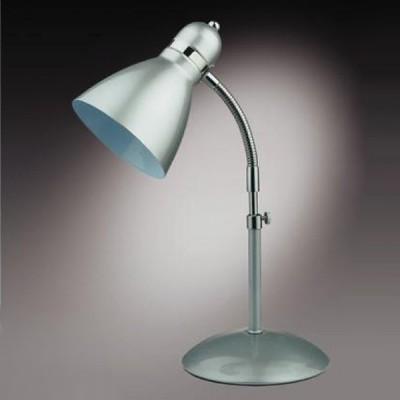 Настольная лампа Odeon light 2090/1T Zird серебристыйОфисные<br>Настольная лампа – это не просто источник дополнительного освещения, но и оригинальный элемент декора. Его можно установить в спальне, гостиной, кабинете и других комнатах. Интернет-магазин «Светодом» предлагает настольные лампы разных стилей по доступным ценам. Благодаря большому ассортименту Вы обязательно найдете в нашем каталоге именно ту модель, которую искали.   Настольная лампа Odeon light 2090/1T  – прекрасный вариант для завершения интерьера. Ее можно включить одновременно с люстрой для более яркого освещения или без нее для создания уютной атмосферы, настраивающей на отдых.   Купить настольную лампу Odeon light 2090/1T  Вы можете с помощью виртуальной «Корзины» или по контактным номерам, указанным на сайте.<br><br>S освещ. до, м2: 4<br>Тип лампы: накал-я - энергосбер-я<br>Тип цоколя: E27<br>Количество ламп: 1<br>Ширина, мм: 170<br>MAX мощность ламп, Вт: 60<br>Диаметр, мм мм: 130<br>Высота, мм: 430-520<br>Цвет арматуры: серый