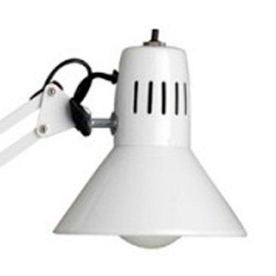 Светильник настольный школьнику Brilliant 10802/05 HobbyНа струбцине<br>Отличный вариант настольной лампы школьнику для учебы. Реокмендуем использовать тут светодиодные лампы с температурой свечения 4200К и выше для повышения умственной активности мозга Вашего ребенка.<br><br>S освещ. до, м2: 4<br>Тип лампы: накал-я - энергосбер-я<br>Тип цоколя: E27<br>Цвет арматуры: белый<br>Количество ламп: 1<br>Диаметр, мм мм: 170<br>Выступ, мм: 650<br>Высота, мм: 700<br>MAX мощность ламп, Вт: 60