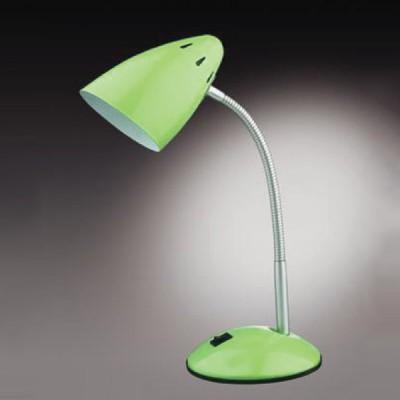 Настольная лампа Odeon light 2103/1T Gap зеленыйОфисные<br>Настольная лампа – это не просто источник дополнительного освещения, но и оригинальный элемент декора. Его можно установить в спальне, гостиной, кабинете и других комнатах. Интернет-магазин «Светодом» предлагает настольные лампы разных стилей по доступным ценам. Благодаря большому ассортименту Вы обязательно найдете в нашем каталоге именно ту модель, которую искали.   Настольная лампа Odeon light 2103/1T  – прекрасный вариант для завершения интерьера. Ее можно включить одновременно с люстрой для более яркого освещения или без нее для создания уютной атмосферы, настраивающей на отдых.   Купить настольную лампу Odeon light 2103/1T  Вы можете с помощью виртуальной «Корзины» или по контактным номерам, указанным на сайте.<br><br>S освещ. до, м2: 4<br>Тип лампы: накал-я - энергосбер-я<br>Тип цоколя: E27<br>Количество ламп: 1<br>Ширина, мм: 141<br>MAX мощность ламп, Вт: 60<br>Диаметр, мм мм: 100<br>Высота, мм: 380<br>Цвет арматуры: зеленый