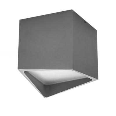 Точечный светильник Lightstar 211479 Quadroквадратные светильники<br>Врезное отверстие: a50; Внешние габариты:L+W100 H110 ; Материал - основание/плафон: металл/пластик; Цвет-основание/плафон: серый;  Лампа: LED 12 Вт соответствует 120 Вт лампе накаливания, Световой поток: 960LM; Трансформатор встроен, 3000K;<br><br>Цветовая t, К: 3000<br>Тип лампы: LED - светодиодная<br>Тип цоколя: LED, встроенные светодиоды<br>Цвет арматуры: серый<br>Количество ламп: 1<br>Ширина, мм: 100<br>Длина, мм: 100<br>Высота, мм: 110<br>Поверхность арматуры: матовая<br>Оттенок (цвет): серый<br>MAX мощность ламп, Вт: 12