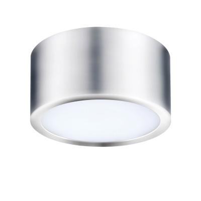 Точечный светильник Lightstar 211914 Zollaкруглые светильники<br>Крепление:  a77; Внешние габариты: D100 H55; Материал - основание/плафон: металл/пластик ; Цвет-основание/плафон: хром; Лампа: LED 10Вт соответствует 100Вт лампе накаливания, Световой поток: 780LM; 3000K<br><br>Цветовая t, К: 3000<br>Тип лампы: LED - светодиодная<br>Тип цоколя: LED, встроенные светодиоды<br>Цвет арматуры: серебристый<br>Количество ламп: 1<br>Диаметр, мм мм: 100<br>Высота, мм: 55<br>Поверхность арматуры: блестящая<br>Оттенок (цвет): серебристый<br>MAX мощность ламп, Вт: 10