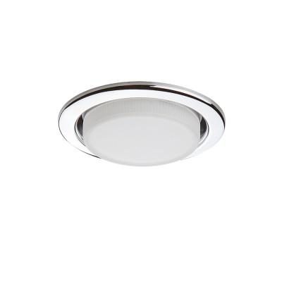 Светильник Lightstar 212114 TENSIOСветодиодные круглые светильники<br>Встраиваемые светильники – популярное осветительное оборудование, которое можно использовать в качестве основного источника или в дополнение к люстре. Они позволяют создать нужную атмосферу атмосферу и привнести в интерьер уют и комфорт. <br> Интернет-магазин «Светодом» предлагает стильный встраиваемый светильник Lightstar 212114. Данная модель достаточно универсальна, поэтому подойдет практически под любой интерьер. Перед покупкой не забудьте ознакомиться с техническими параметрами, чтобы узнать тип цоколя, площадь освещения и другие важные характеристики. <br> Приобрести встраиваемый светильник Lightstar 212114 в нашем онлайн-магазине Вы можете либо с помощью «Корзины», либо по контактным номерам. Мы развозим заказы по Москве, Екатеринбургу и остальным российским городам.<br><br>Тип лампы: галогенная/LED<br>Тип цоколя: GX53<br>Цвет арматуры: серебристый<br>Количество ламп: 1<br>Диаметр, мм мм: 110<br>Размеры: H 30 D 110 Диаметр врезного отверстия<br>MAX мощность ламп, Вт: 13
