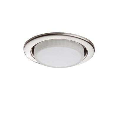 Lightstar TENSIO 212115 Светильник (без ламп)Круглые LED<br>Встраиваемые светильники – популярное осветительное оборудование, которое можно использовать в качестве основного источника или в дополнение к люстре. Они позволяют создать нужную атмосферу атмосферу и привнести в интерьер уют и комфорт. <br> Интернет-магазин «Светодом» предлагает стильный встраиваемый светильник Lightstar 212115. Данная модель достаточно универсальна, поэтому подойдет практически под любой интерьер. Перед покупкой не забудьте ознакомиться с техническими параметрами, чтобы узнать тип цоколя, площадь освещения и другие важные характеристики. <br> Приобрести встраиваемый светильник Lightstar 212115 в нашем онлайн-магазине Вы можете либо с помощью «Корзины», либо по контактным номерам. Мы развозим заказы по Москве, Екатеринбургу и остальным российским городам.<br><br>Тип лампы: галогенная/LED<br>Тип цоколя: GX53<br>Количество ламп: 1<br>MAX мощность ламп, Вт: 13<br>Диаметр, мм мм: 110<br>Размеры: H 30 D 110 Диаметр врезного отверстия<br>Цвет арматуры: серебристый