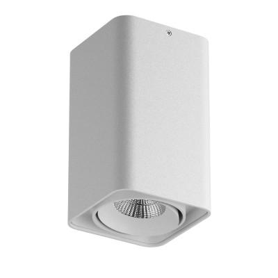 Lightstar MONOCCO 212536 СветильникДаунлайты<br><br><br>Тип лампы: галогенная/LED<br>Тип цоколя: MR16<br>Цвет арматуры: белый<br>Количество ламп: 1<br>Ширина, мм: 100<br>Длина, мм: 100<br>Высота, мм: 170<br>MAX мощность ламп, Вт: 50