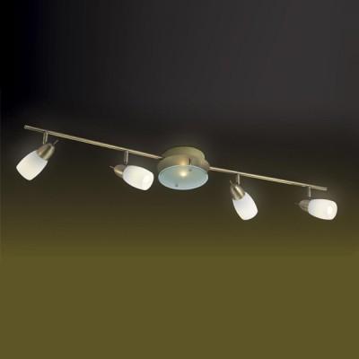 Светильник Odeon light 2130/4W Orto бронзаС 4 лампами<br>Светильники-споты – это оригинальные изделия с современным дизайном. Они позволяют не ограничивать свою фантазию при выборе освещения для интерьера. Такие модели обеспечивают достаточно качественный свет. Благодаря компактным размерам Вы можете использовать несколько спотов для одного помещения.  Интернет-магазин «Светодом» предлагает необычный светильник-спот Odeon light 2130/4W по привлекательной цене. Эта модель станет отличным дополнением к люстре, выполненной в том же стиле. Перед оформлением заказа изучите характеристики изделия.  Купить светильник-спот Odeon light 2130/4W в нашем онлайн-магазине Вы можете либо с помощью формы на сайте, либо по указанным выше телефонам. Обратите внимание, что мы предлагаем доставку не только по Москве и Екатеринбургу, но и всем остальным российским городам.<br><br>S освещ. до, м2: 3<br>Тип товара: Светильник поворотный спот<br>Тип лампы: накал-я - энергосбер-я/галогенная<br>Тип цоколя: E14+G9<br>Количество ламп: 5<br>MAX мощность ламп, Вт: 40<br>Длина, мм: 1070<br>Высота, мм: 195<br>Цвет арматуры: бронзовый