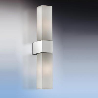 Светильник Odeon Light 2136/2W Wass хром IP44Современные<br>Используются силиконовые уплотнители для защиты от воды.<br>Допускается установка светильника в горизонтальном и вертикальном положении.<br><br>S освещ. до, м2: 5<br>Тип лампы: галогенная / LED-светодиодная<br>Тип цоколя: G9<br>Цвет арматуры: серебристый<br>Количество ламп: 2<br>Ширина, мм: 40<br>Расстояние от стены, мм: 70<br>Высота, мм: 280<br>Оттенок (цвет): белый<br>MAX мощность ламп, Вт: 40