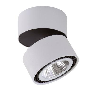 Спот Lightstar 213839 Forteодиночные споты<br>Крепление: a3x70; Внешние габариты: D126 H130; Материал - основание/плафон: металл; Цвет-основание/плафон: серый; Лампа: LED 26W= 260W Световой поток: 1950LM; 3000К ; Угол рассеивания: 30G; Встроенный трансформатор<br><br>Цветовая t, К: 3000<br>Тип лампы: LED - светодиодная<br>Тип цоколя: LED, встроенные светодиоды<br>Цвет арматуры: белый/черный<br>Количество ламп: 1<br>Диаметр, мм мм: 126<br>Поверхность арматуры: матовая<br>Оттенок (цвет): белый<br>MAX мощность ламп, Вт: 26