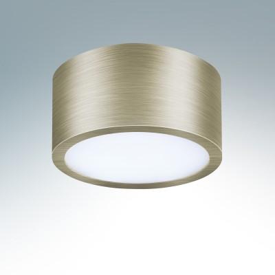 Lightstar ZOLLA 213911 СветильникДекоративные<br><br><br>Тип товара: Светильник<br>Тип лампы: LED<br>Тип цоколя: LED<br>MAX мощность ламп, Вт: 9<br>Диаметр, мм мм: 100<br>Высота, мм: 50